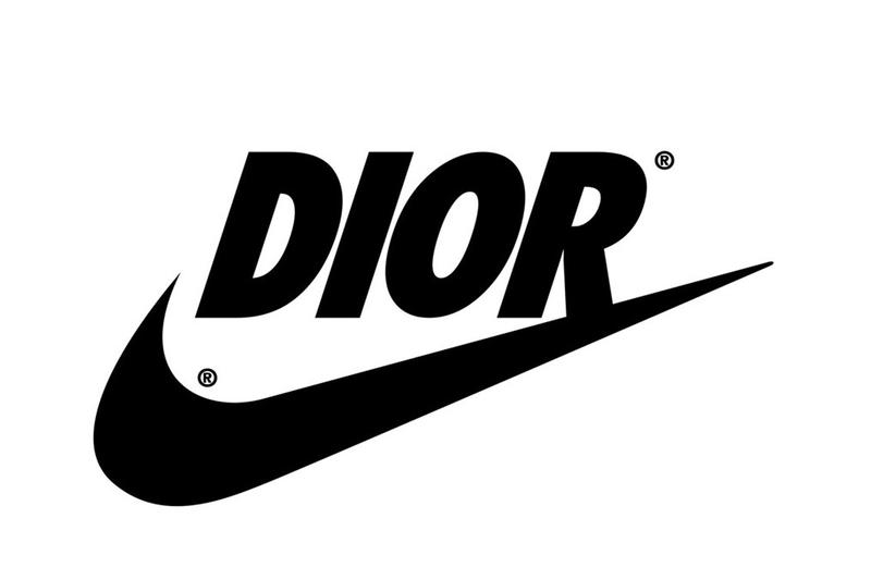 Fashion's Most Iconic Logos Get Redesigned Graphic Designer Reilly Dior Nike Chanel Champion