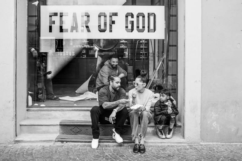 Fear of God Pop-Up Launch at Back Door Bottega