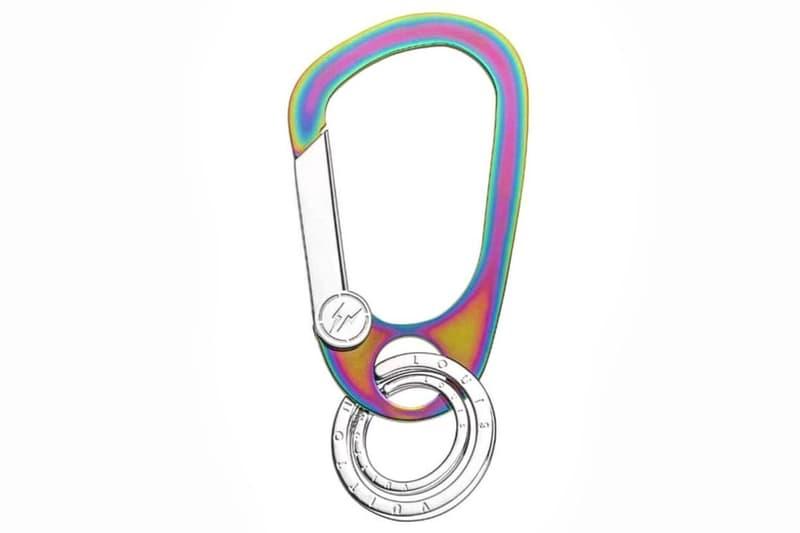 fragment design x Louis Vuitton Iridescent Carabiner
