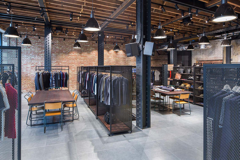 Fred Perry Clerkenwell London Headquarters BuckleyGrayYeoman Clothing Design Architecture