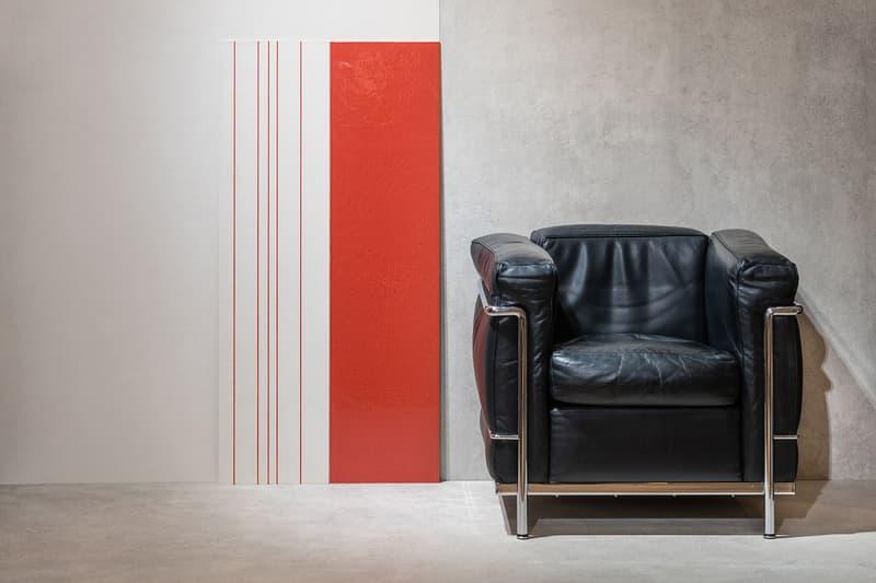 Gigacer Le Corbusier Tiles Red