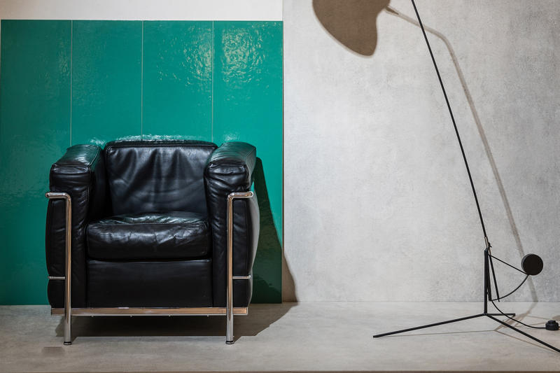 Gigacer Le Corbusier Tiles Green