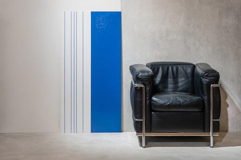 Gigacer Le Corbusier Tiles Blue