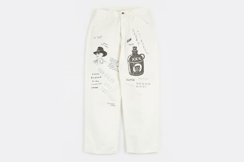 A Look at the NEIGHBORHOOD Hand-Drawn Memorial Pant