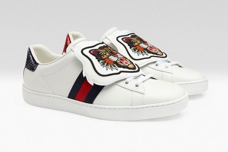 Gucci Ace Patch Sneakers Customize