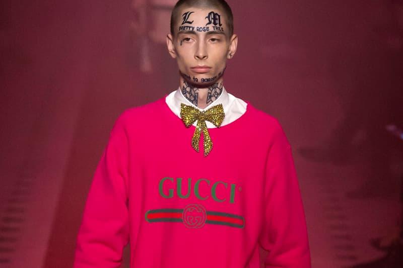 Gucci 50 Percent Sales Jump 2017 Campaign