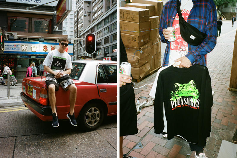 Highs and Lows PLEASURES T Shirt Capsule Apparel Soft Goods Streetwear Fashion Clothing