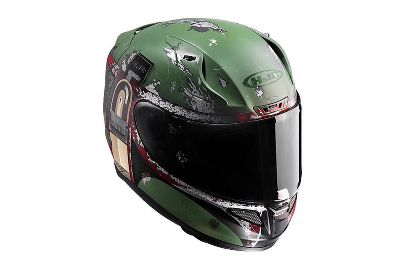 HJC Star Wars: The Last Jedi Kylo Ren and Boba Fett Helmet Motorcycle