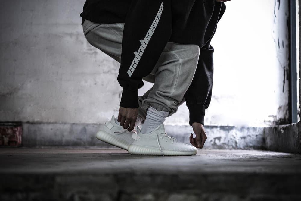 Kanye West adidas Originals YEEZY BOOST 350 V2 Cream White Giveaway HYPEBEAST