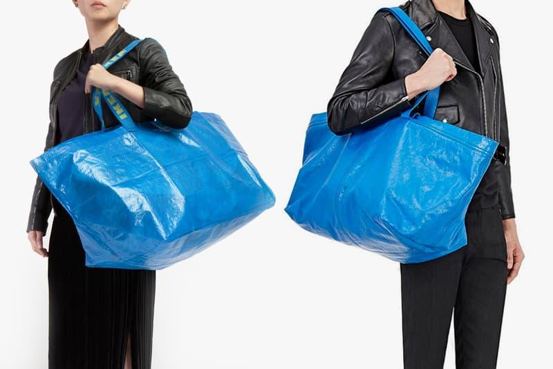 IKEA Balenciaga Copycat Tote Bag Response