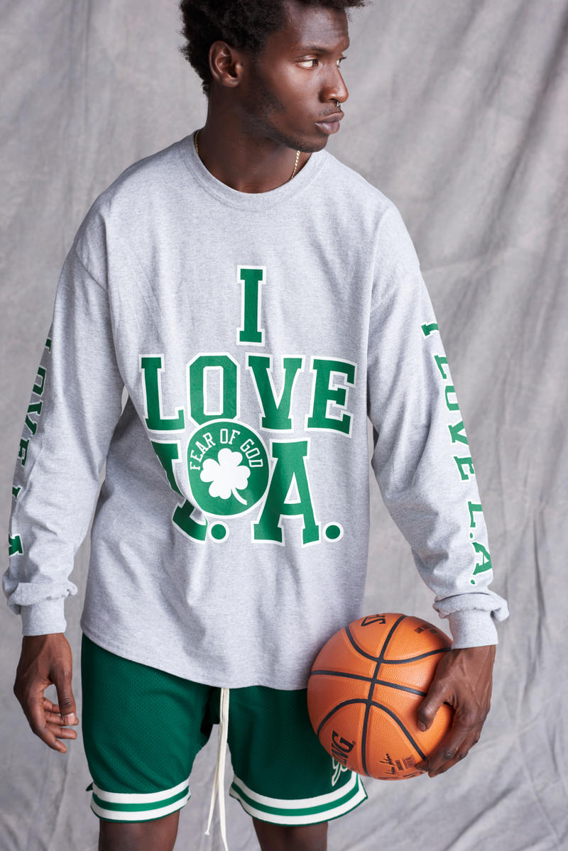Jerry Lorenzo Fear of God 1987 Collection Irish Green I Love L.A.