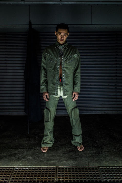 John's by JOHNNY 2017 Fall Winter Collection Military Battle Garments Olive Navy