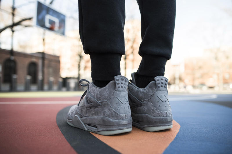 new product bbaa2 6ed3d KAWS Air Jordan 4 Instagram Shots