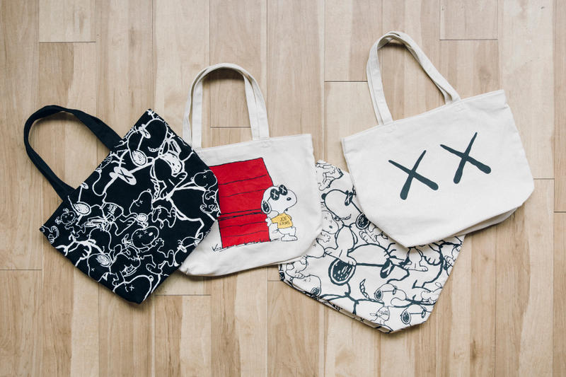 KAWS  'Peanuts' Uniqlo UT Collection Snoopy Woodstock