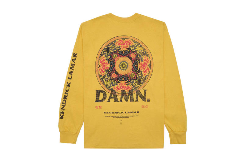 Kendrick Lamar Kung Fu Kenny Merch DAMN.