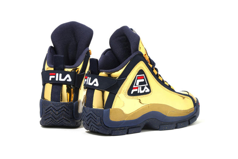 "Kinetics x FILA 96GL ""Metallic"" Basketball Sneakers"