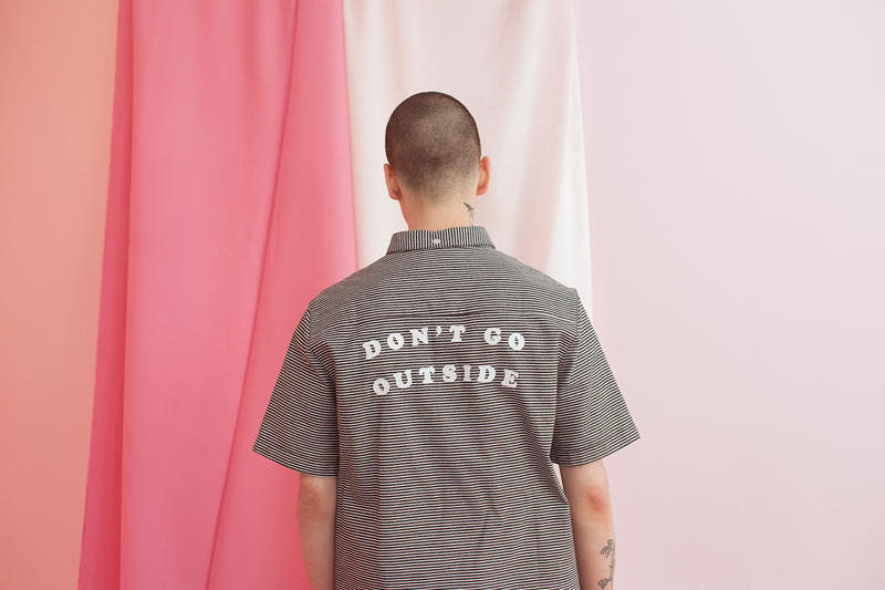 Lazy Oaf Summer 2017 Don't Go Outside Shirt