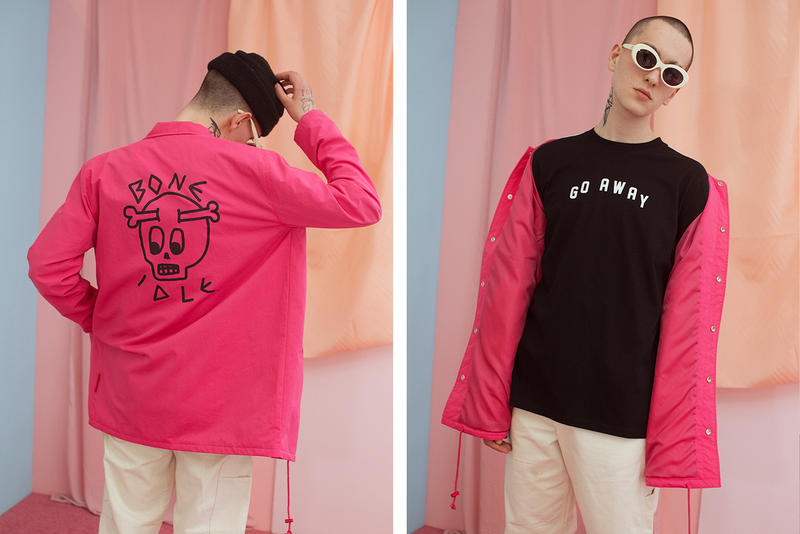 Lazy Oaf Summer 2017 Bone Idle Jacket