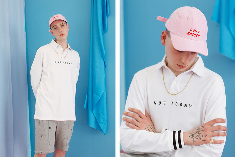 Lazy Oaf Summer 2017 Not Today Rugby Shirt
