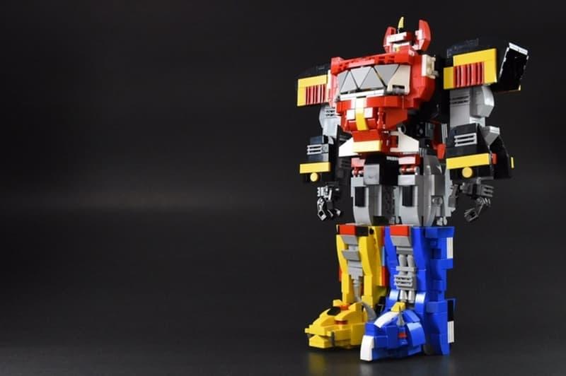LEGO Fan Builds Original Power Ranger Megazord