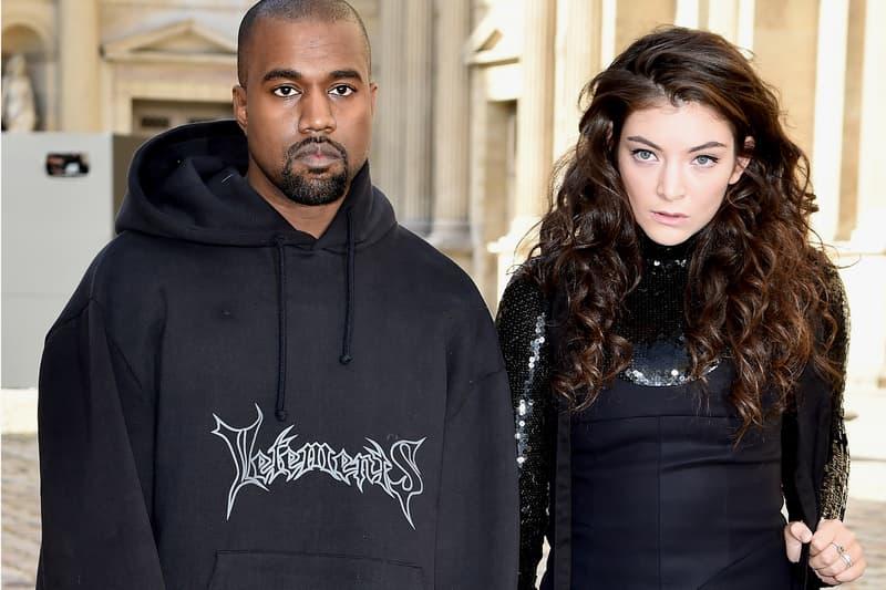 "Lorde Kanye West ""Runaway"" Coachella 2017 Videos Performances"