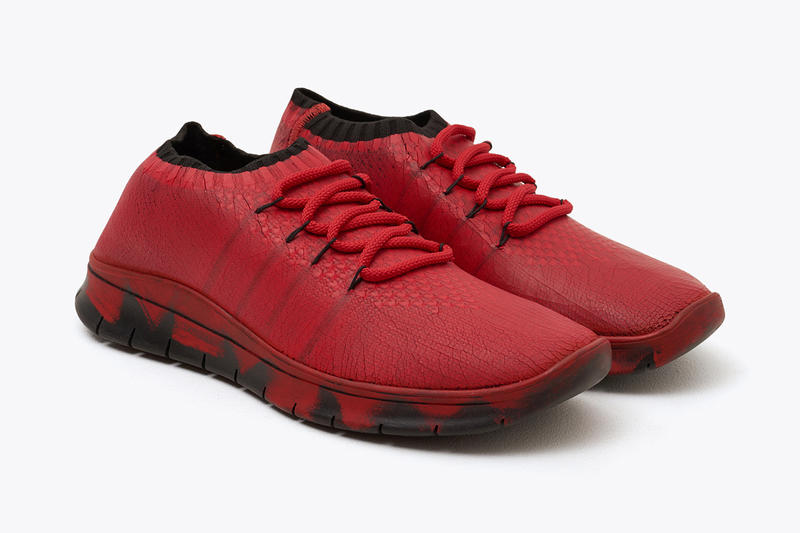 Maison Margiela Luxury Runner Red French Fashion House