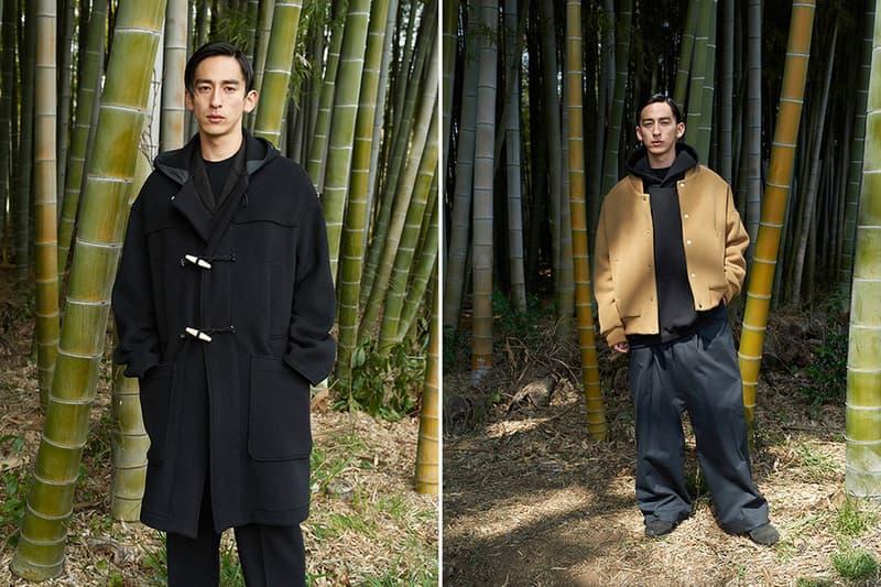 MARKWARE 2017 Fall/Winter Lookbook Conveys Sophisticated Proportions Beige Outerwear Japanese Shunsuke Ishikawa