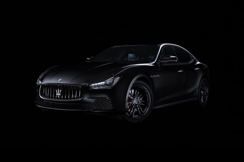 "Maserati Special Edition Ghibli ""Nerissimo"" New York International Auto Show"