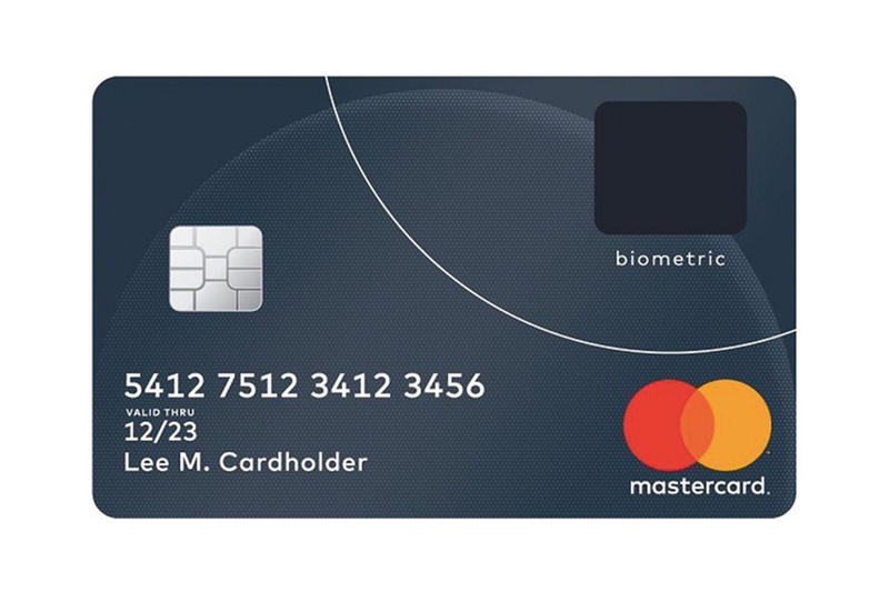Mastercard Credit Card Fingerprint Scanner Technology Security