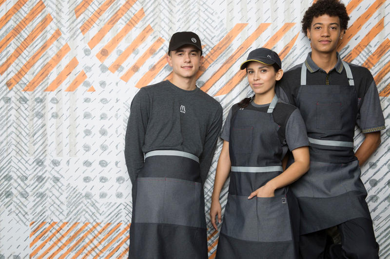 McDonald's New Uniforms Waraire Boswell