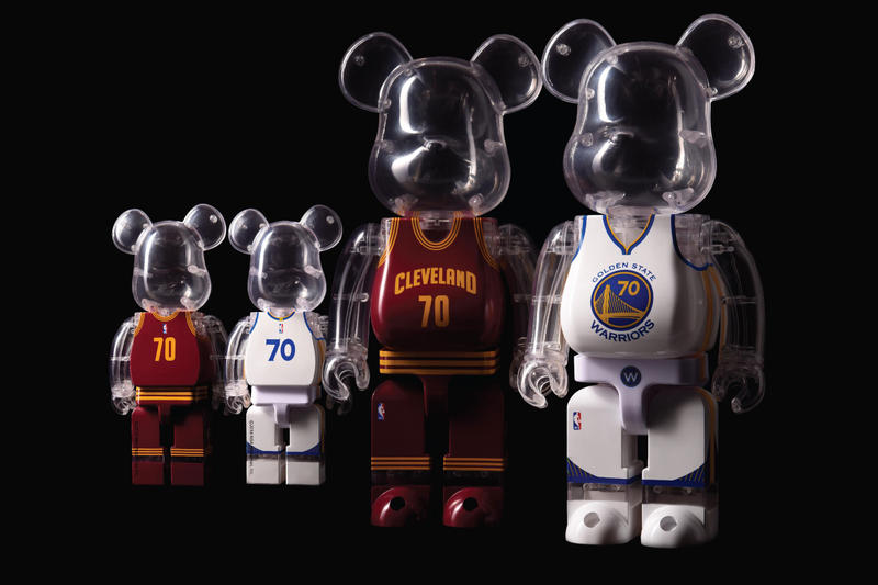 Medicom Toy MiLK Cargo NBA BE@RBRICKS 400% Golden State Warriors Cleveland Cavaliers