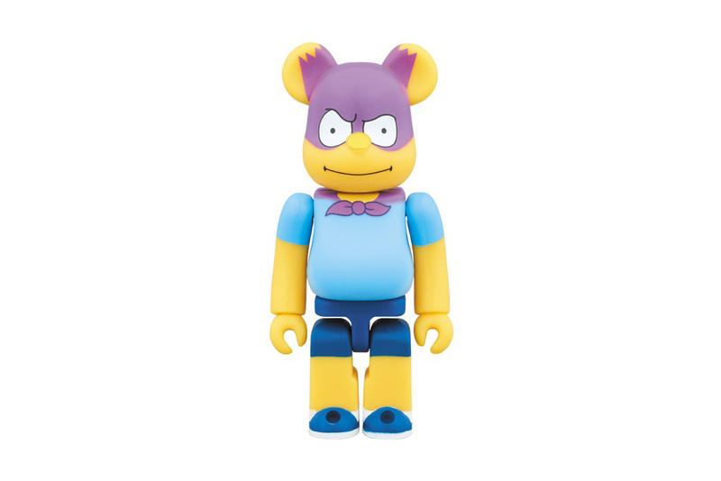 The Simpsons Medicom Toy Bartman Bearbrick