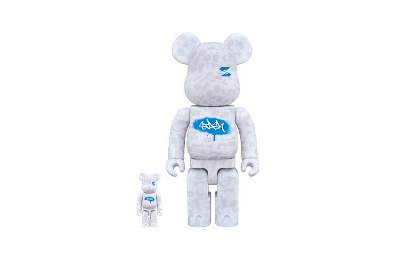 STASH Medicom Toy BE@RBRICK 100% 400% Caps Graffiti