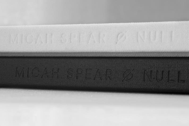 Micha Spear 'Ø' Null Collection Print Books Art Photography Film