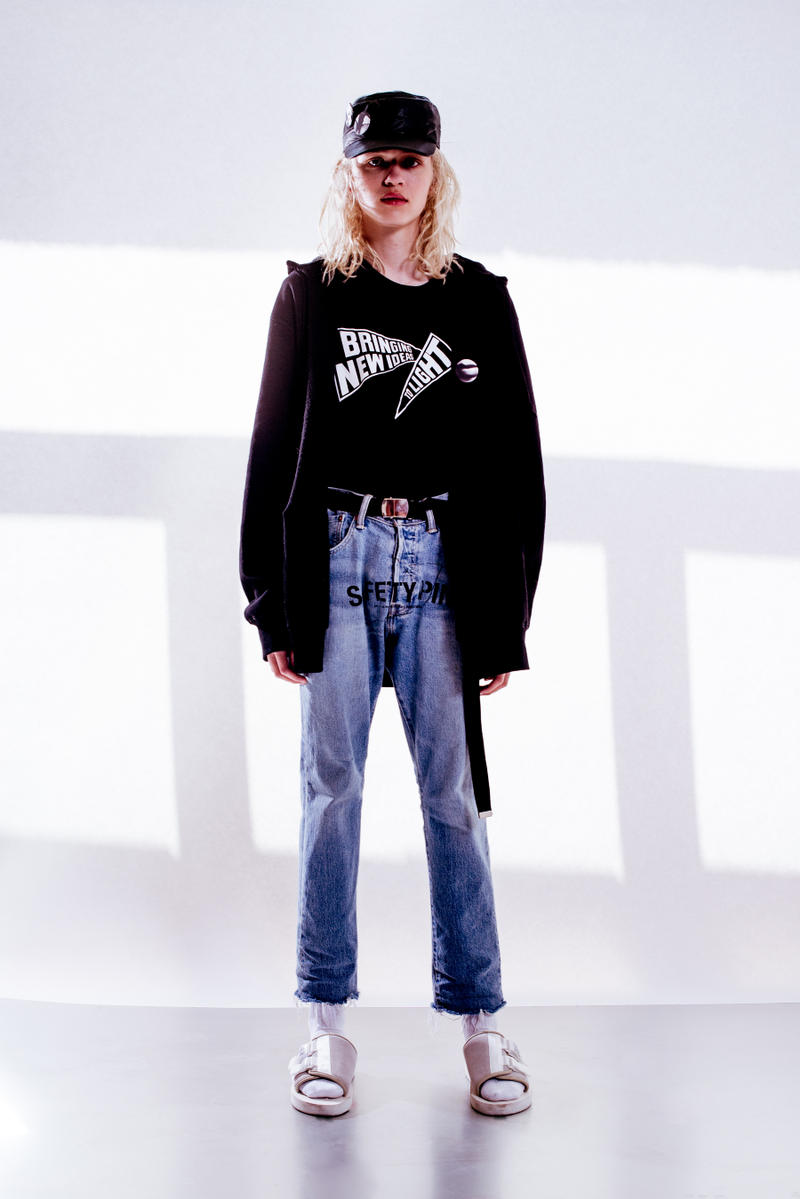 """MIDNIGHT STUDIOS 2017 Spring/Summer """"Safety Pin"""" Collection Lookbook SHANE GONZALES"""