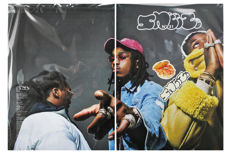 Migos Gets Cover for SNEEZE Magazine Issue 31