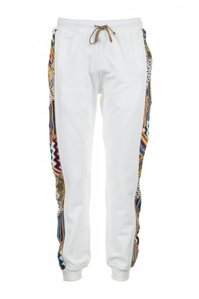 Missoni Pigalle 2017 Spring/Summer Collection Patch Work Designs Basketball Hat Pants Shirts