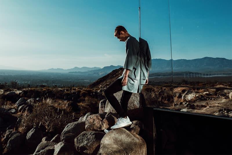 MNML 2017 Spring/Summer Lookbook Oversized Shirt Grey Salmon Teal