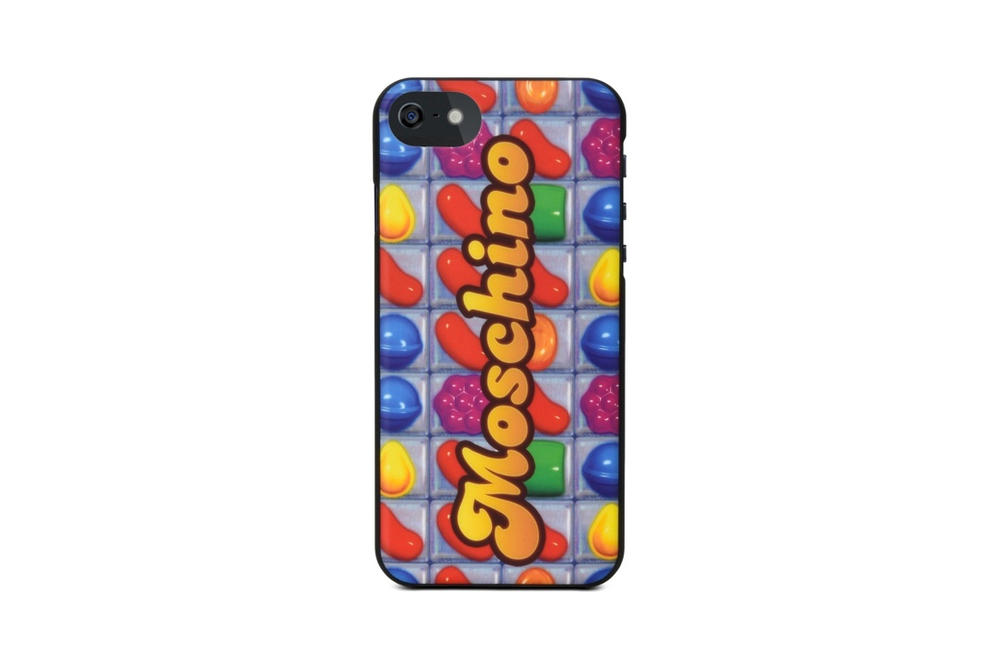 Moschino candy crush game bags iphone cases accessories