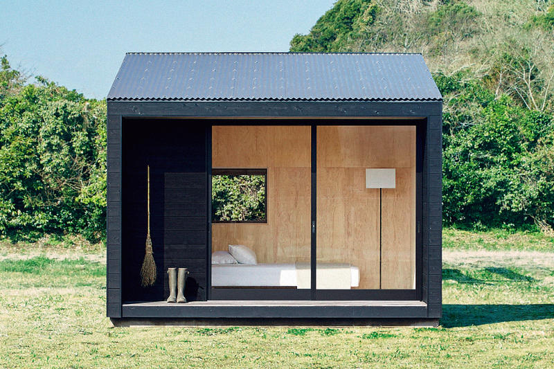 MUJI Tiny Huts Architecture Design Home-goods Spaces