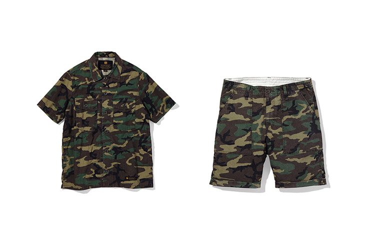 06ea22c6fd NEIGHBORHOOD's 2017 Spring/Summer First Delivery Offers Camo Goods
