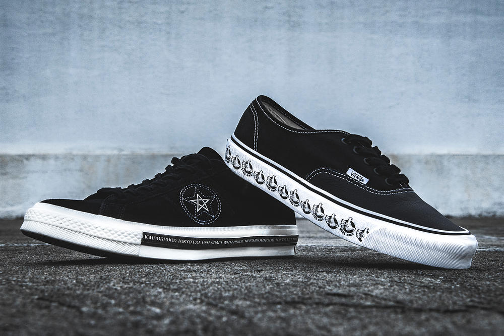Head-to-Head NEIGHBORHOOD Collaborations: Converse One Star vs. Vault by Vans Authentic