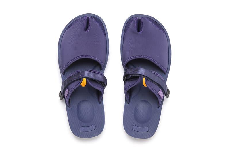 NEPENTHES SUICOKE Purple Label Split Toe Sandal Footwear Collaboration Fashion