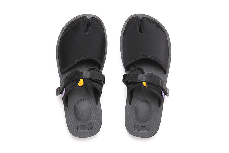 NEPENTHES SUICOKE Purple Label Split Toe Sandal Footwear Collaboration Fashion