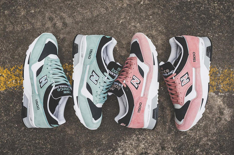 separation shoes bc392 d1dc3 New Balance 1500 Pastel Pack Easter Mint Green Salmon Pink