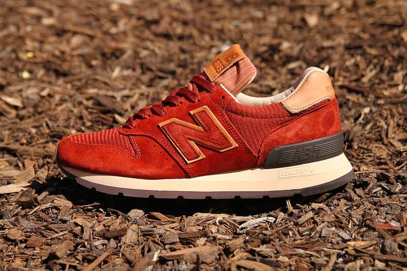 New Balance 995 Terracotta Red