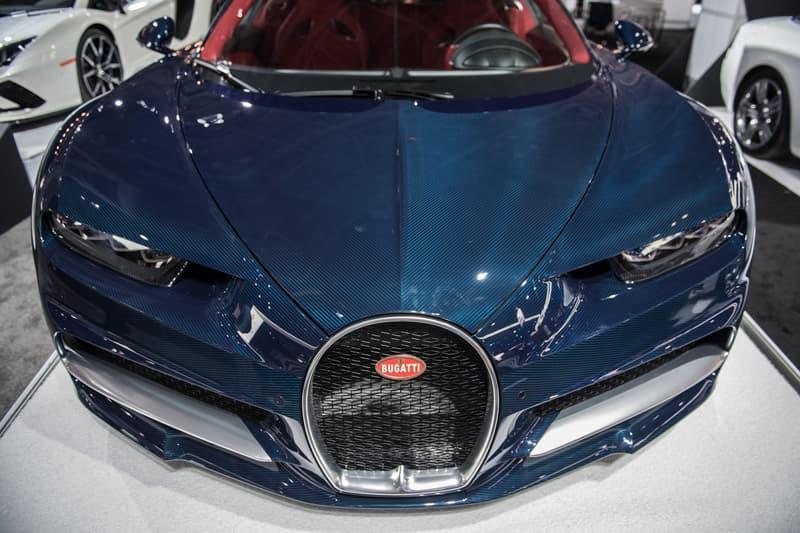 Bugatti Chiron Blue Front
