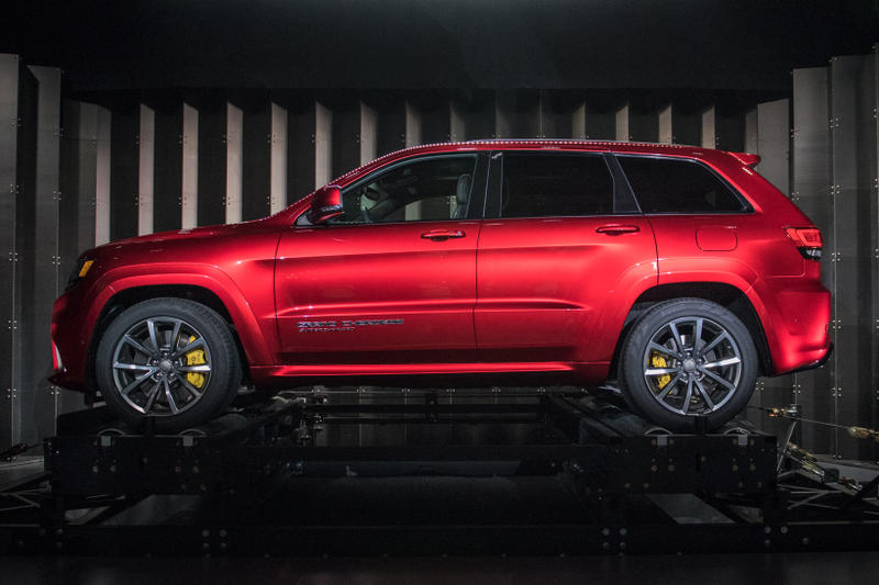 2018 Jeep Grand Cherokee Trackhawk Red