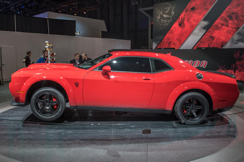 2018 Dodge Challenger SRT Demon Red