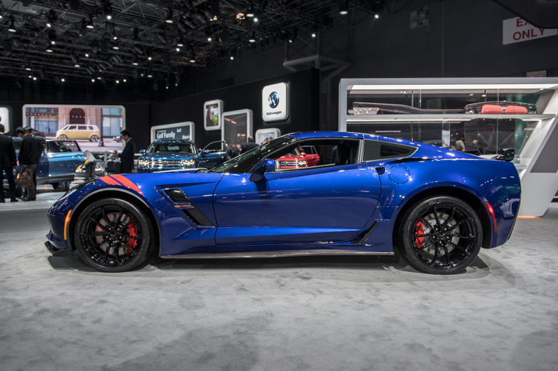 2017 Chevy Corvette Grand Tour Admiral Blue Heritage Edition